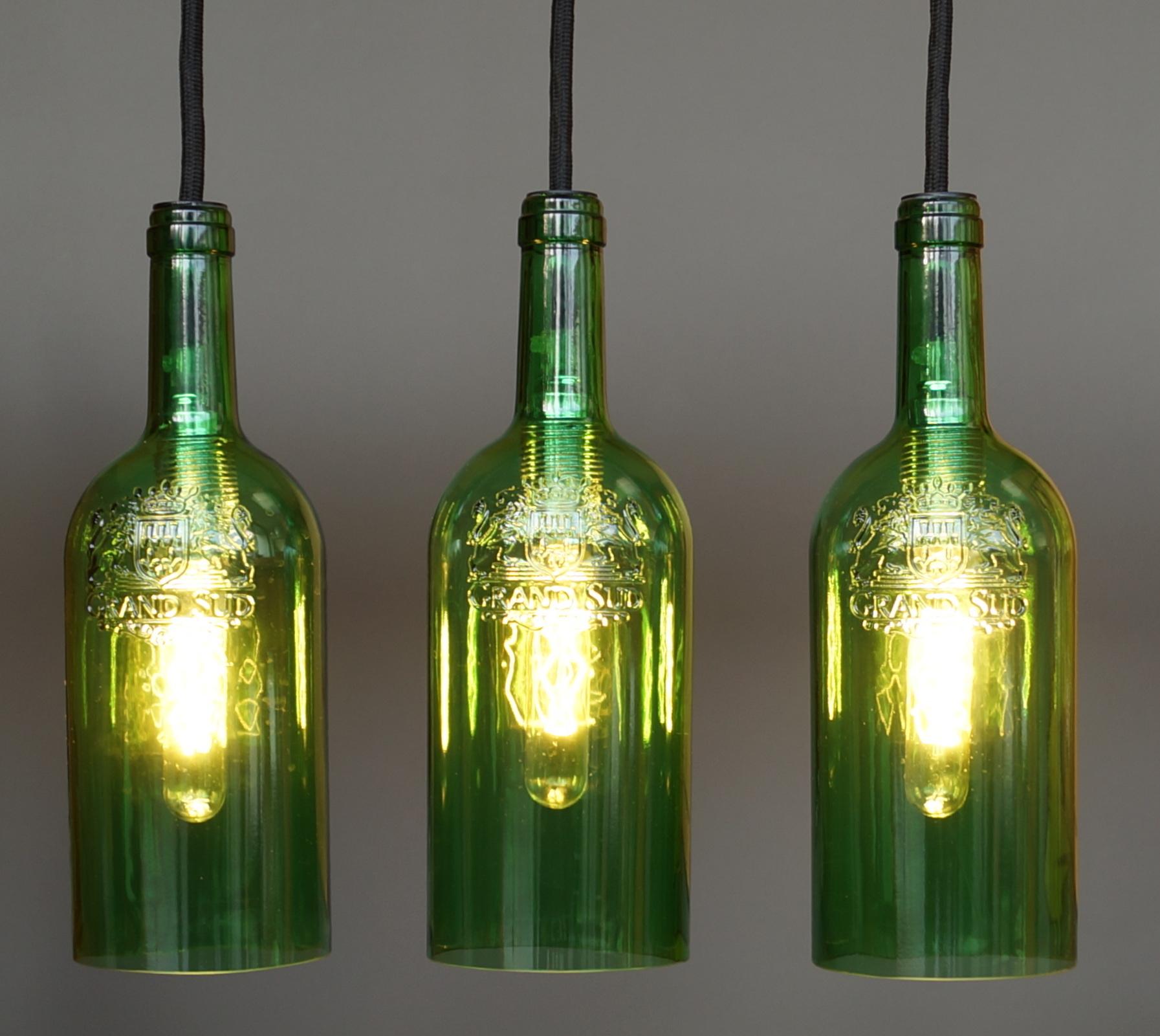lichtgestalten flaschenlampe h ngelampe. Black Bedroom Furniture Sets. Home Design Ideas
