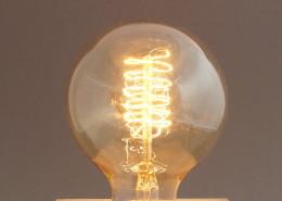Glühlampe Globe Gold 40W Edison Vintage E27