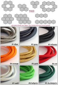 Kabelfarben und Muster FAVO