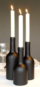 """Kerzenständer """"candela/3Black"""""""