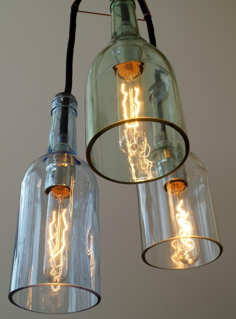 uniikatde lichtgestalten flaschenlampe haengelampe