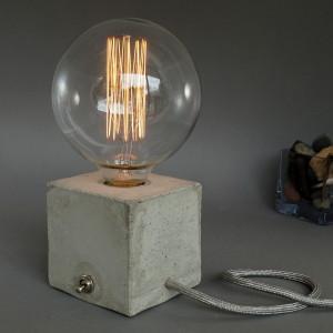 Betonlampe cubo