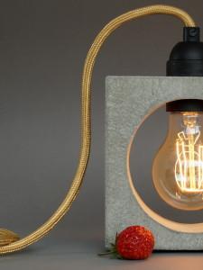 Betonlampe Tischlampe nomad