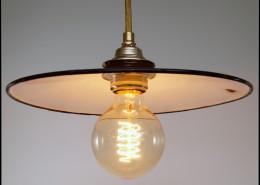 "Industrielampe Hängelampe ""Linteum"" braun"