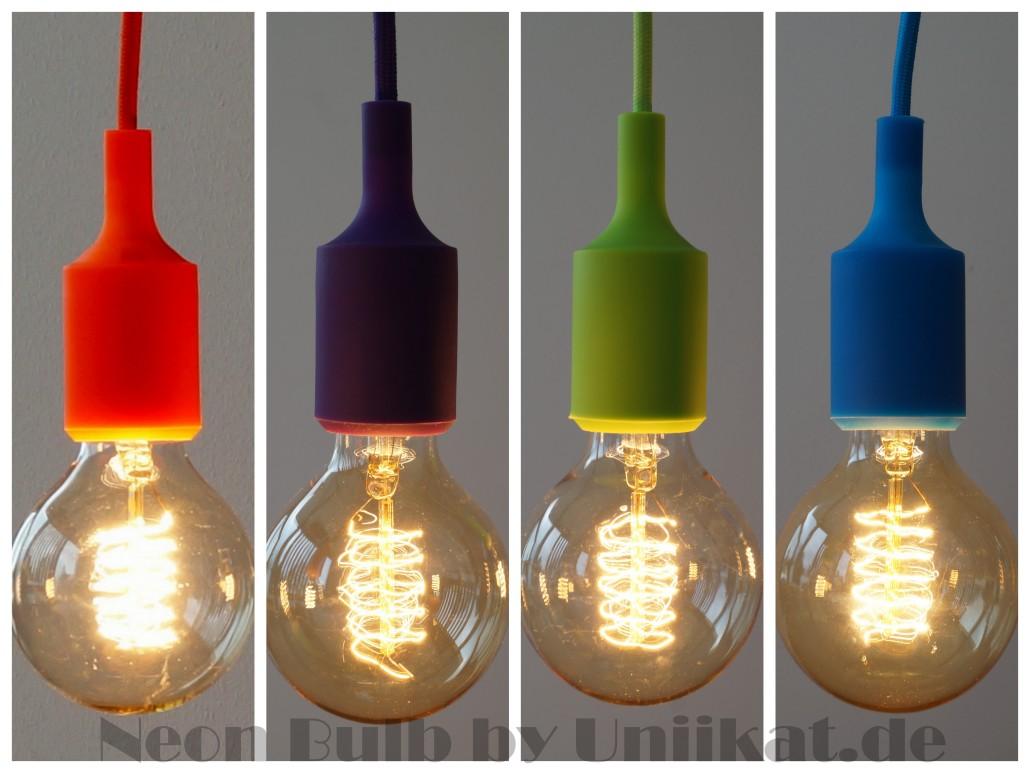 Uniikat De Lichtgestalten Pendelleuchte Neonb Incl Vintage